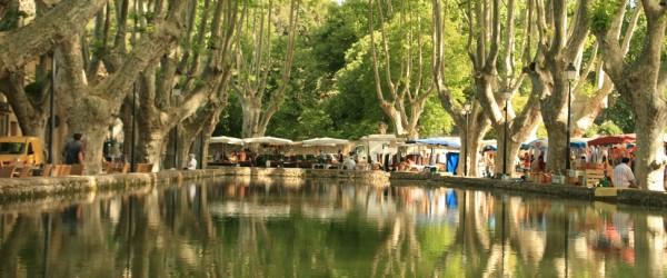 Cucuron etang Provence